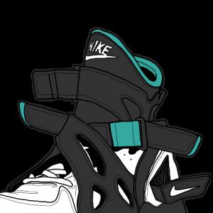nike kd8 的鞋面花纹均由